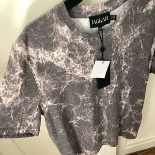 Jaggar Unisex Marvel Marble T-Shirt Size XS/S BNWT