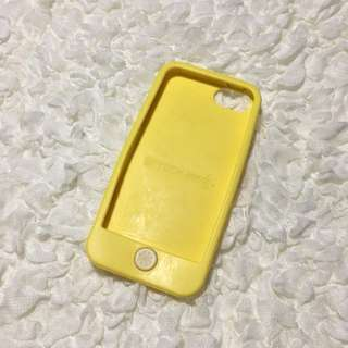 Yellow Rubber iPhone 5/5s Case