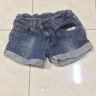 Poney jeans short pant for girl (7-8 yrs old)