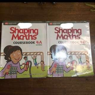 P4 math text book- shaping maths