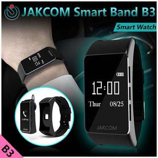 JAKCOM Smart Watch Heart Rate Distant Tracker Bluetooth Earphone