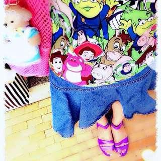 二手 紫色防水涼鞋 雨鞋 (封面實穿照)