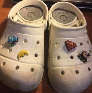 Crocs 防水拖鞋 女生7號 #十一月免購物直接送