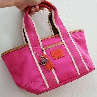 Coach short handle bag