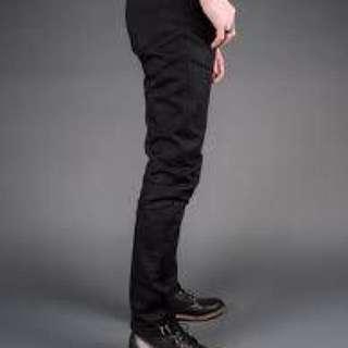 Uniqlo black selvedge jeans