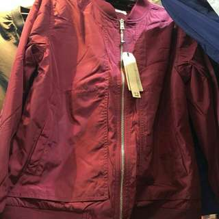 Bomber Jacket (thick inner clothing, good for cold weather)