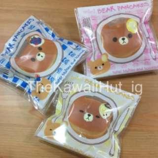 Puni Maru Mini Bear Pancake Squishy