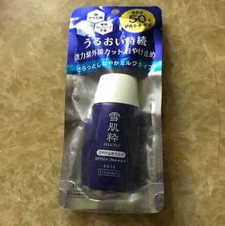 日本雪肌粹防曬乳