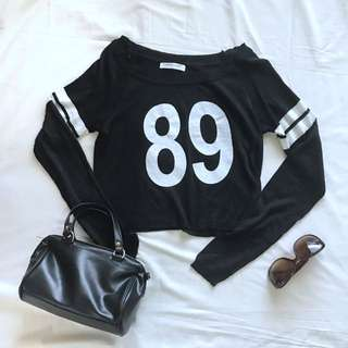 Magnolia Black Top Knitwear