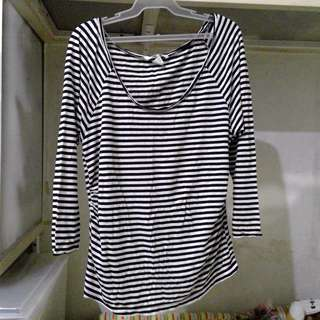 FINAL PRICE Authentic H&M Maternity Shirt - Stripes