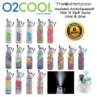 ⭐O2COOL®⭐ O2COOL® Insulated ArcticSqueeze® Mist N Sip® Bottles