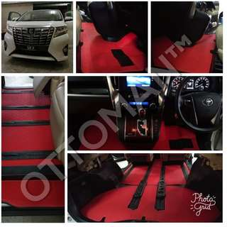 TOYOTA ALPHARD LUXURY MPV CAR CARPET PU LEATHER PREMIUM SERIES