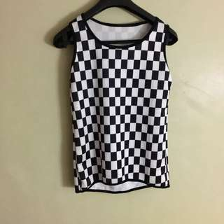 Checkered Terno