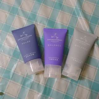 June Jacob's Aromatherapy Portico SPA skincare set