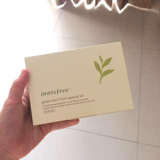 Innisfree Green Tea Fresh Travel Kit