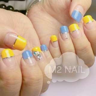 M2 nail- 優惠gel甲$120