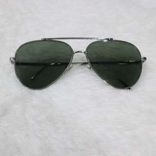 i2i Aviator Inspired Shades (Greenish Black)