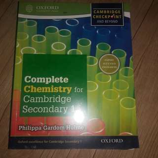 COMPLETE PHY,CHEM,BIO FOR CAMBRIDGE SECONDARY ONE
