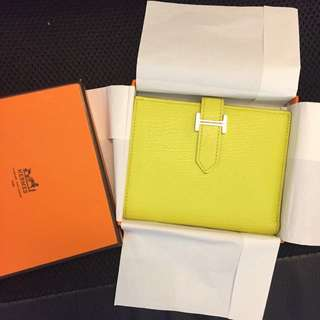 Hermes Bearn Short Wallet