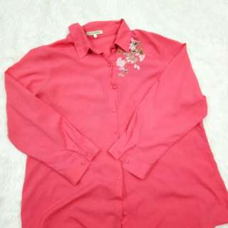 Plussize Blouse by TOTAL WOMAN (Peach pink)