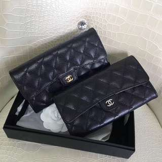 Chanel trifold Wallets