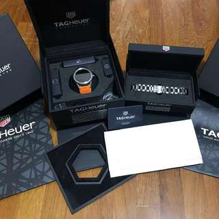 USED LATEST TAG HEUER SMARTWATCH