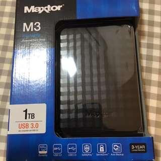 Maxtor 1TB Portable Hard Drive