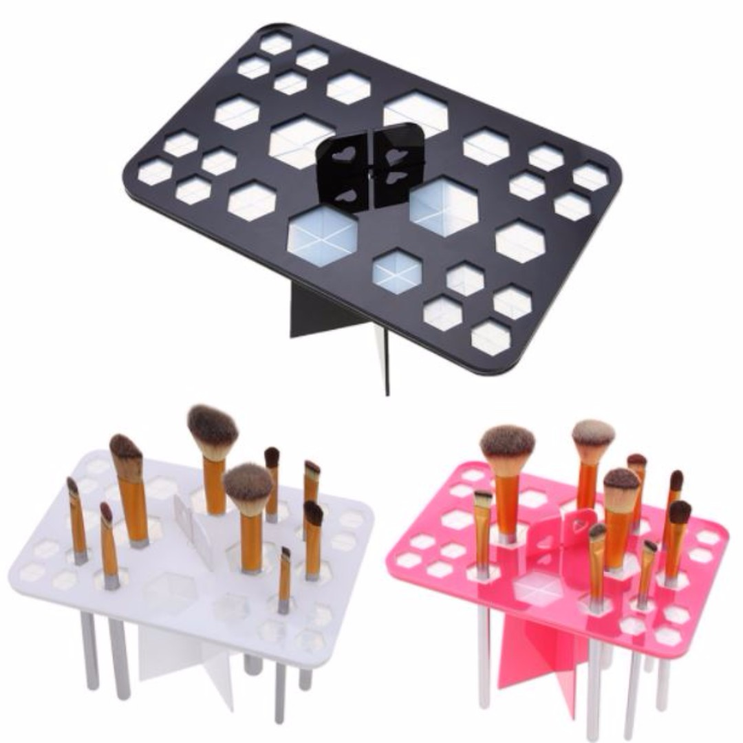 26 Hole Makeup Brush Tree