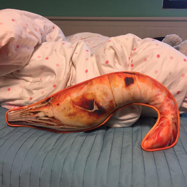 仿真蝦玩偶#手滑買太多