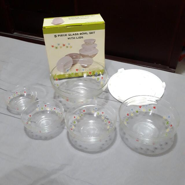 玻璃碗含蓋