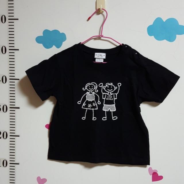 二手 4T 愛的世界 男童上衣