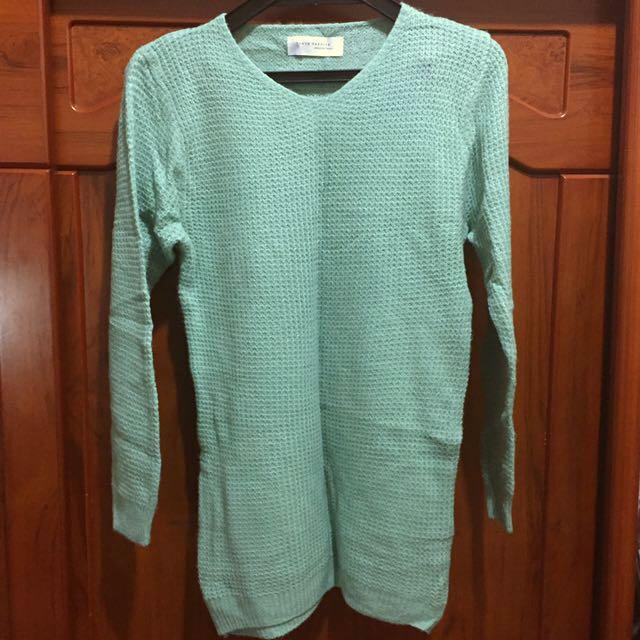 🎃二手🎃東京著衣草綠色毛衣 #手滑買太多