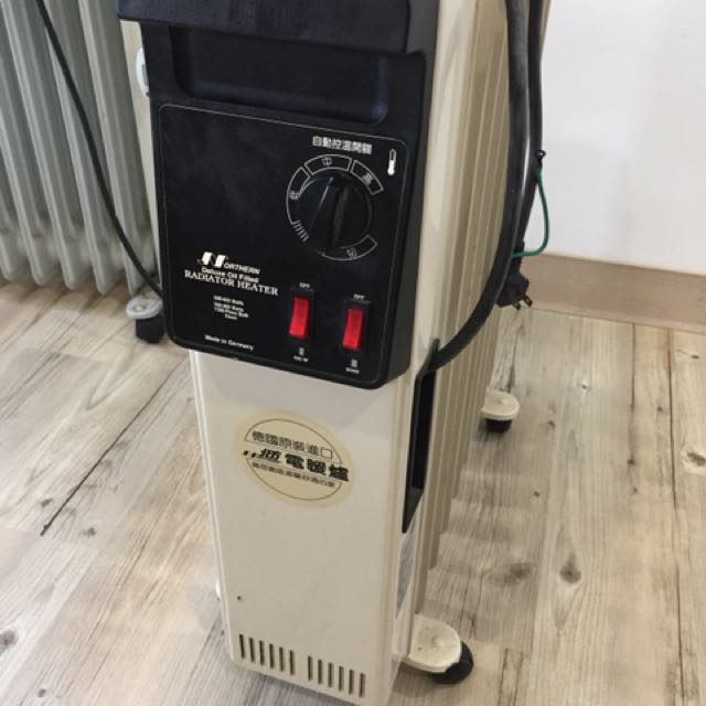 德國原裝 北方葉片式暖爐