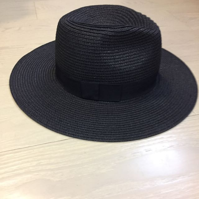 編織平沿紳士寬延帽 #手滑買太多