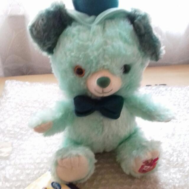 迪士尼薄荷 大學熊 愛麗絲 瘋帽款 SS 玩偶