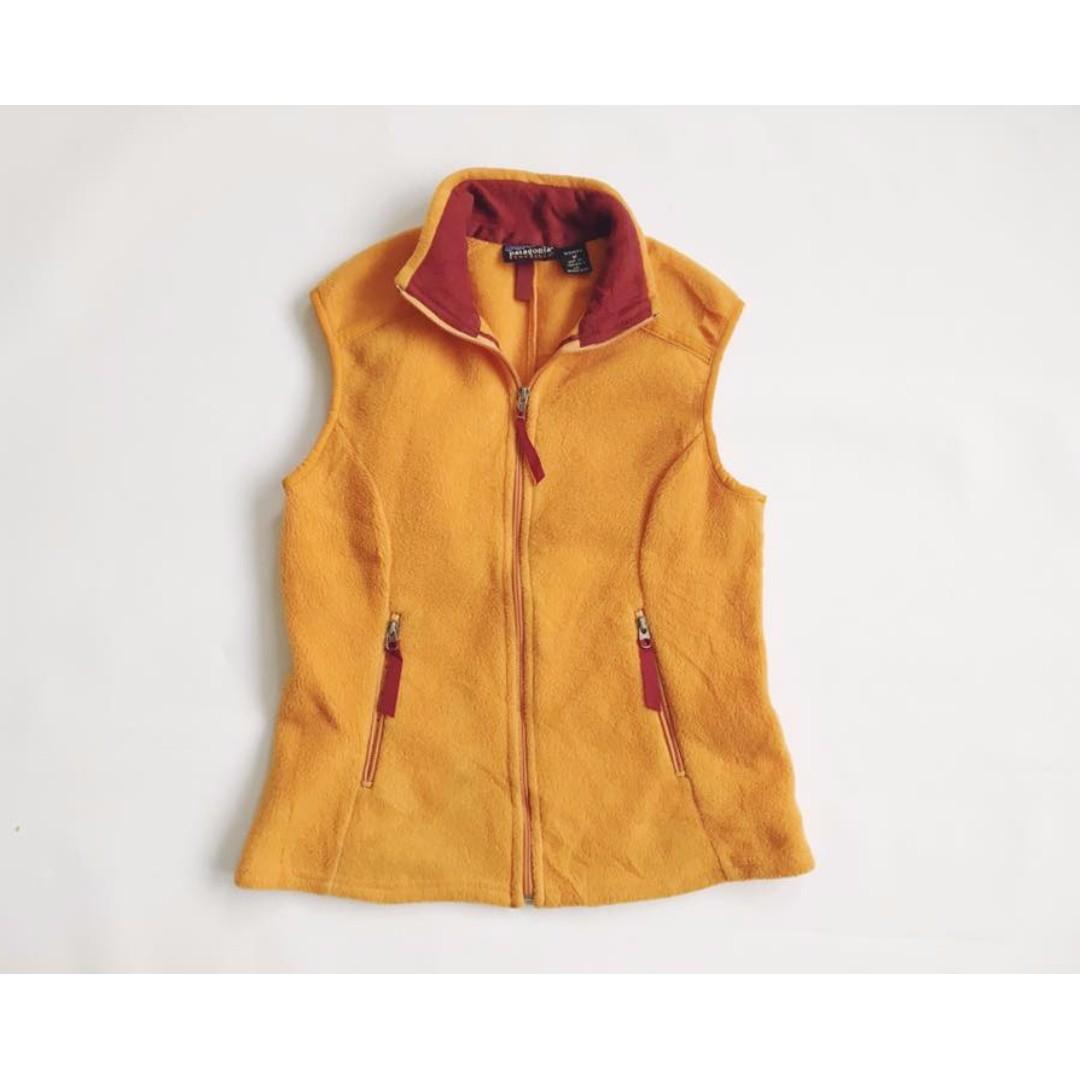 刷毛背心 Patagonia Fleece vest TOM&MAO湯姆貓古著