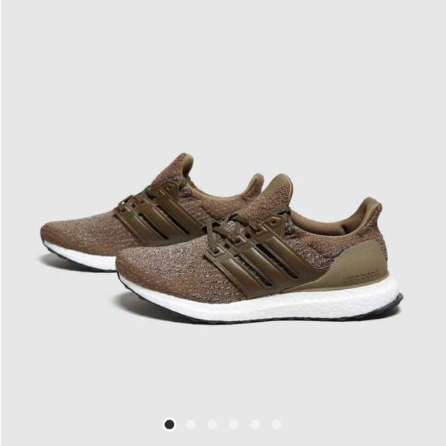 1665d58dd7a Adidas ultraboost 3.0 trace olive trace brown leather cage