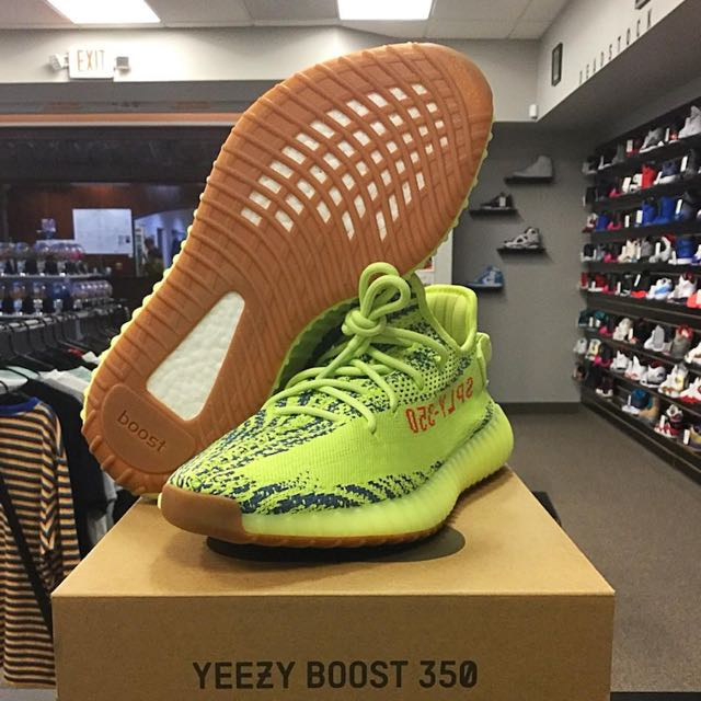 Adidas Yeezy 350 V2 Semi Frozen Yellow Copy Original Men S Fashion