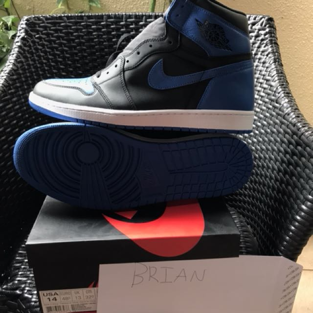 Air Jordan 1 Royal US 14