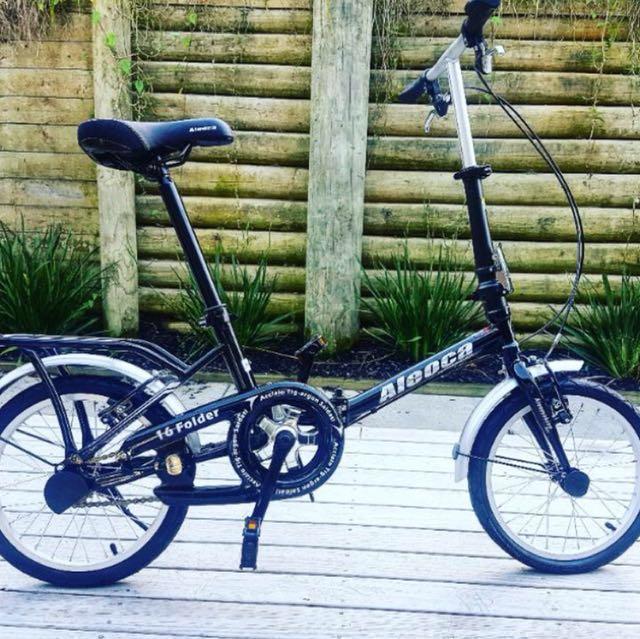 Aloca 14'' Single Speed Folding Bike
