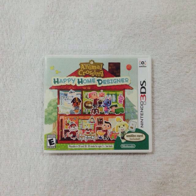 Animal Crossing: Happy Home Designer (Nintendo 3DS)