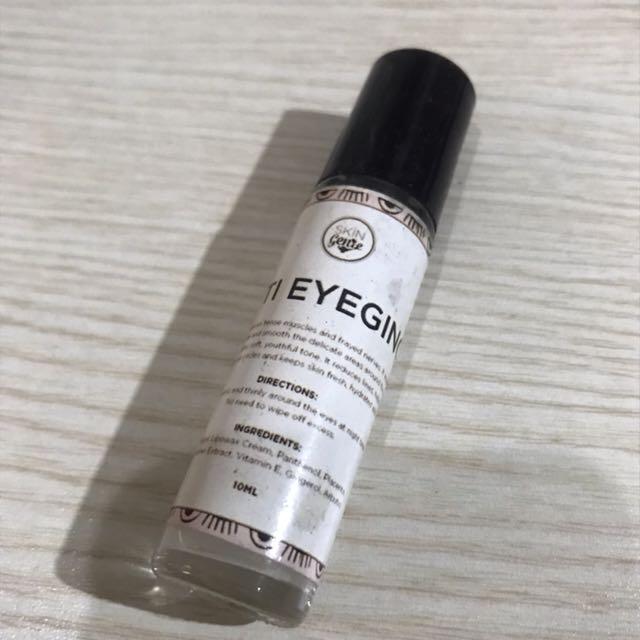 Anti eyeging by Skin Genie