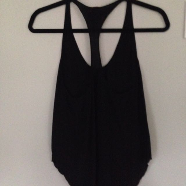 Aritzia Wilfred Black Top - Size XS