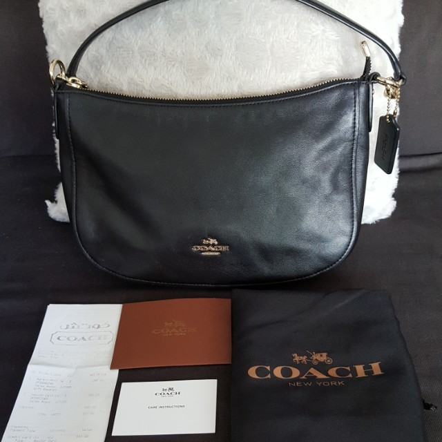 AUTHENTIC COACH Chelsea Crossbody in Soft Calf Leather 8b553cfed48de