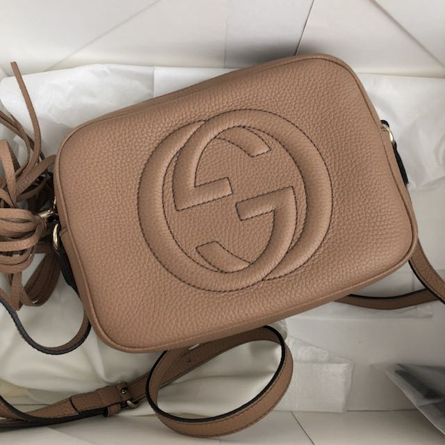 1ee322a72fe Authentic GUCCI SOHO DISCO  markdown
