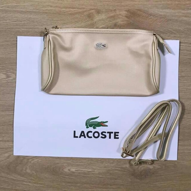2c9dce6b4 Authentic Lacoste Daily Classic Sling Bag