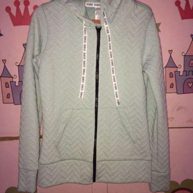 Authentic Victoria's Secret hoodie jacket