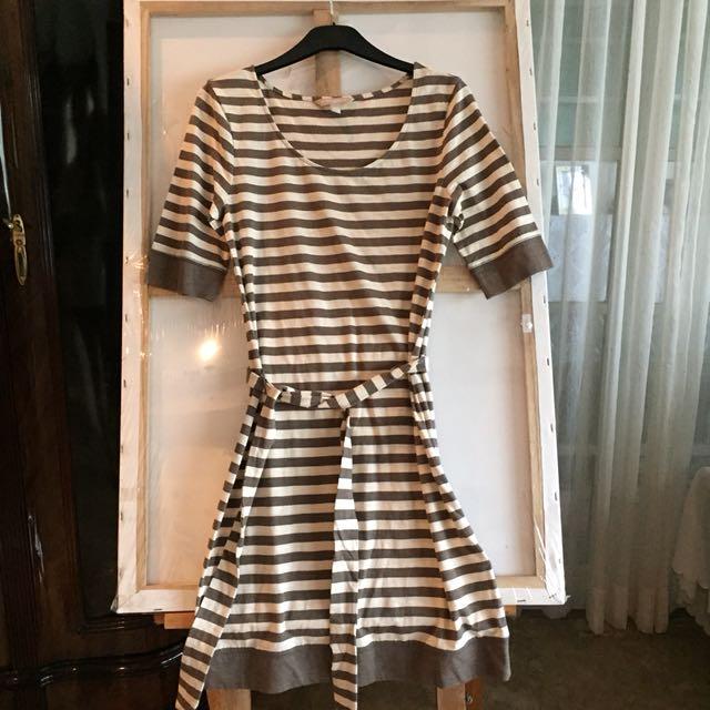 Banana Republic Striped Jersey Dress