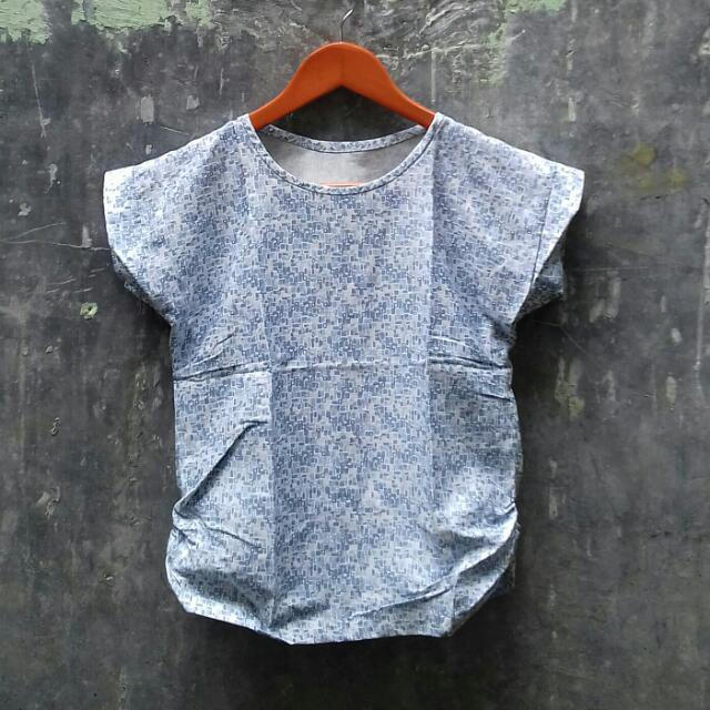 Blue Garden Blouse