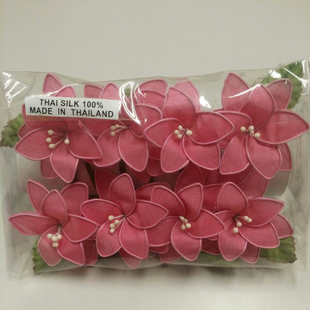 Artificial flowers fl supplies flowers healthy bn thai silk flowers pink colour design craft craft supplies mightylinksfo